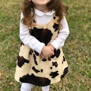 Vintage Jumping Cow Matilda Jane Dress